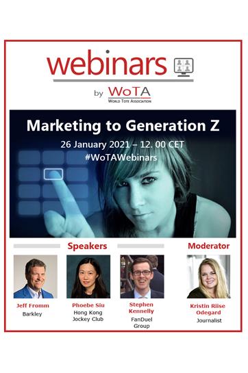 WoTA Webinar – 26 January 2021 – Marketing to Generation Z
