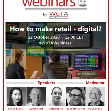 First WoTA Webinar is now confirmed on 22 October 2020 at 12.00 CET